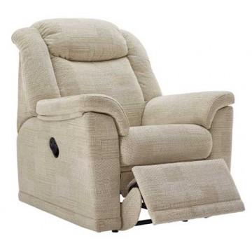 G Plan Milton Fabric  - Powered Recliner Chair