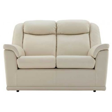 G Plan Milton Leather  - 2 Seater Manual Recliner Sofa Double