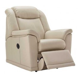 G Plan Milton Leather  - Powered Recliner Chair