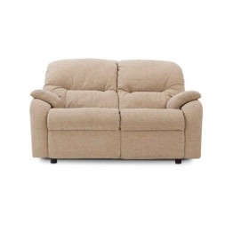 G Plan Mistral Fabric - 2 Seater Small Manual Recliner Sofa Double