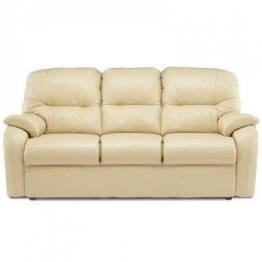 G Plan Mistral Leather - 3 Seater Manual Recliner Sofa Double