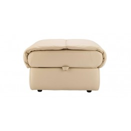 G Plan Mistral Leather - Storage Footstool