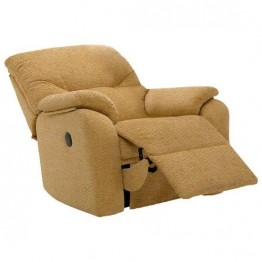 G Plan Mistral Fabric - Small Manual Recliner