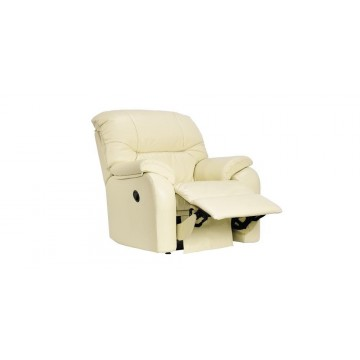 G Plan Mistral Leather - Small Powered Recliner