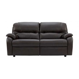 G Plan Mistral Leather - 3 Seater Sofa - 2 Cushion Version