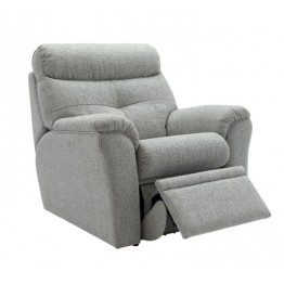 G Plan Newton Fabric Manual Recliner