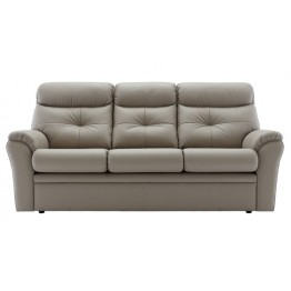 G Plan Newton Leather 3 Seater Sofa