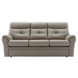 G Plan Newton Leather 3 Seater Sofa