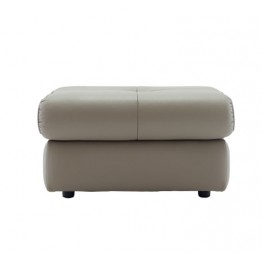 G Plan Newton Leather Footstool (Fixed)