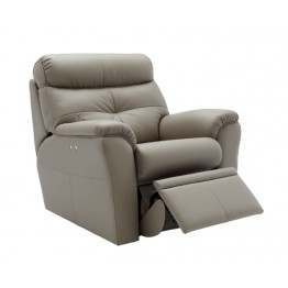 G Plan Newton Leather Power Recliner