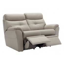 G Plan Newton Leather Manual Reclining 2 Seater Sofa - Choose either LHF or RHF