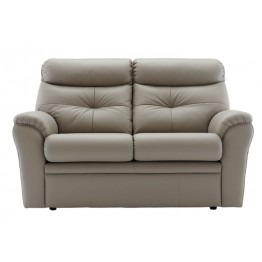 G Plan Newton Leather 2 Seater Settee