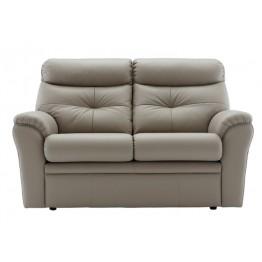 G Plan Newton Leather 2 Seater Settee