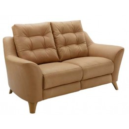 G Plan Pip Leather - 2 Seater Settee