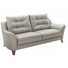 G Plan Pip Leather - 3 Seater Settee