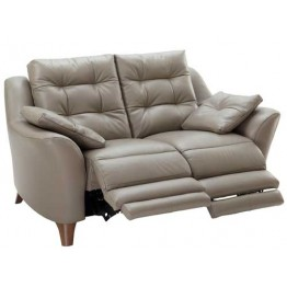 G Plan Pip Fabric - 2 Seater Power Recliner Sofa