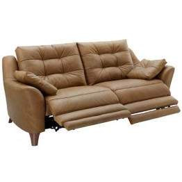 G Plan Pip Fabric - 3 Seater Power Recliner Sofa