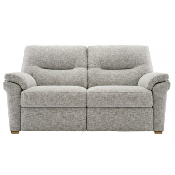 G Plan Seattle Manual Recliner 2 Seater Sofa in Fabric
