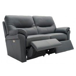 G Plan Seattle Manual Recliner 2 Seater Sofa in Leather
