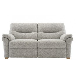 G Plan Seattle Manual Recliner 2.5 Seater Sofa in Fabric