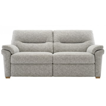 G Plan Seattle Manual Recliner 3 Seater Sofa in Fabric