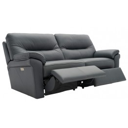 G Plan Seattle Manual Recliner 3 Seater Sofa in Leather