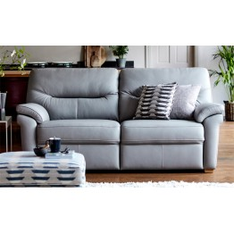 G Plan Seattle 3 Seater Sofa in Leather