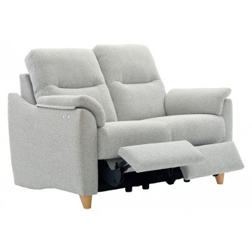 G Plan Spencer 2 Seater Double Electric Recliner Sofa  - Leather