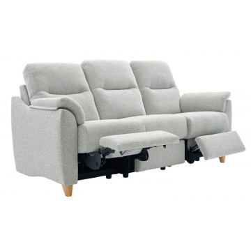 G Plan Spencer 3 Seater Double Electric Recliner Sofa  - Fabric