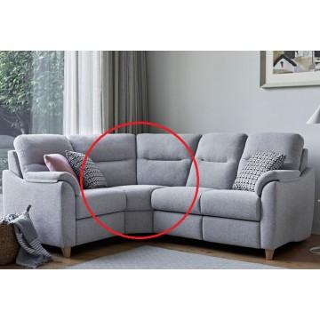 Modular Item - G Plan Spencer Curved Corner Unit - Fabric