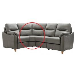 Modular Item - G Plan Spencer Curved Corner Unit - Leather