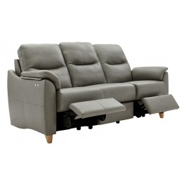 G Plan Spencer 3 Seater Double Electric Recliner Sofa  - Leather