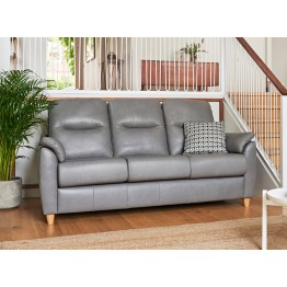 G Plan Spencer 3 Seater Settee - Leather