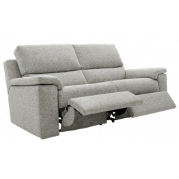 G Plan Taylor Fabric - 3 Seater Manual Recliner Settee