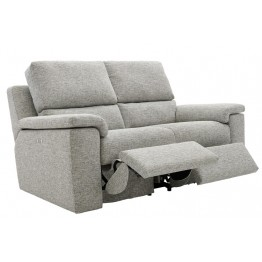 G Plan Taylor Fabric - 2 Seater Electric Recliner Settee