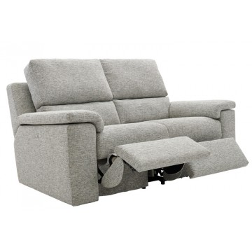 G Plan Taylor Fabric - 2 Seater Manual Recliner Settee