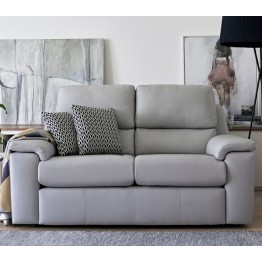 G Plan Taylor Leather - 2 Seater Sofa