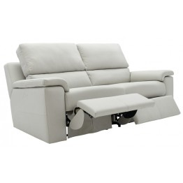 G Plan Taylor Leather - 3 Seater Manual Recliner Sofa
