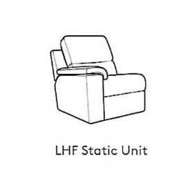 G Plan Taylor Fabric - Modular Item - LHF Arm Unit / RHF Arm Unit
