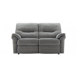 G Plan Washington Fabric - 2 Seater Manual Recliner Sofa Double