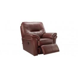 G Plan Washington Leather - Manual Recliner