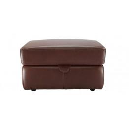 G Plan Washington Leather - Storage Footstool