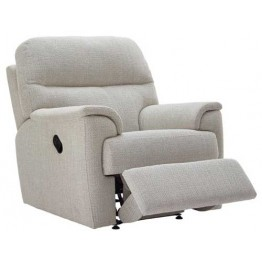G Plan Watson Fabric  - Manual Recliner
