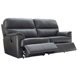 G Plan Watson Leather - Manual Reclining 3 Seater Sofa