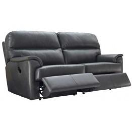 G Plan Watson Leather - Manual Reclining 3 Seater Sofa