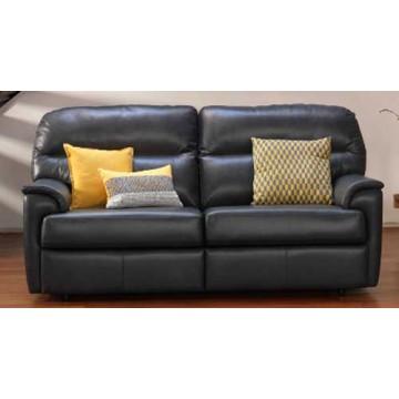 G Plan Watson Leather - 3 Seater Sofa