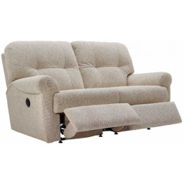 G Plan Winslet Fabric  - Manual Reclining 2 Seater Sofa - Double