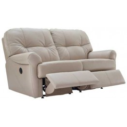 G Plan Winslet Leather  - Manual Reclining 2 Seater Sofa