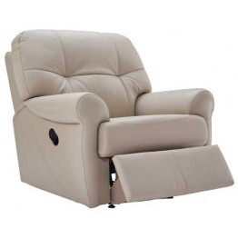 G Plan Winslet Leather  - Manual Recliner