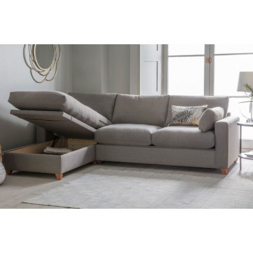 Burton 140 Ottoman Sofabed With LH Chaise Seat
